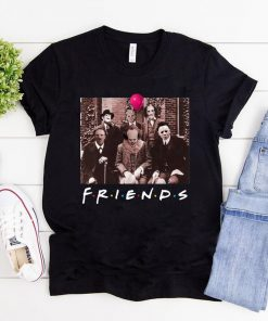 Horror Halloween Team Friends T-Shirt
