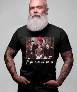 Mens Horror Halloween Team Friends T-Shirt