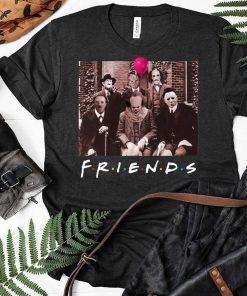 Friends Spooky Clown Jason Squad Halloween Horror Classic T-Shirt