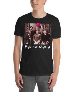 Friends Spooky Clown Jason Squad Halloween Horror Unisex T-Shirt