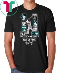 Edgar martinez 11 seattle al 1987-2004 hall of fame shirt