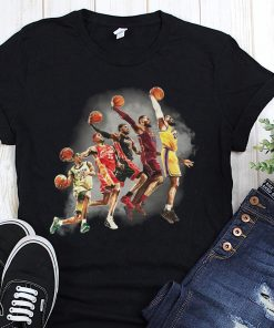 NBA los angeles lakers lebron james the evolution of a king shirt
