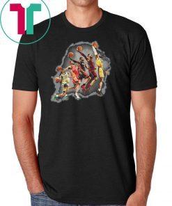 NBA los angeles lakers lebron james the evolution of a king shirt