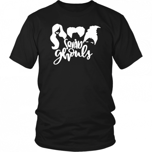 Squad Ghouls Hocus Pocus Halloween T-Shirt