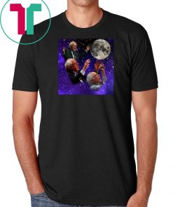 Three bernie sanders moon shirt
