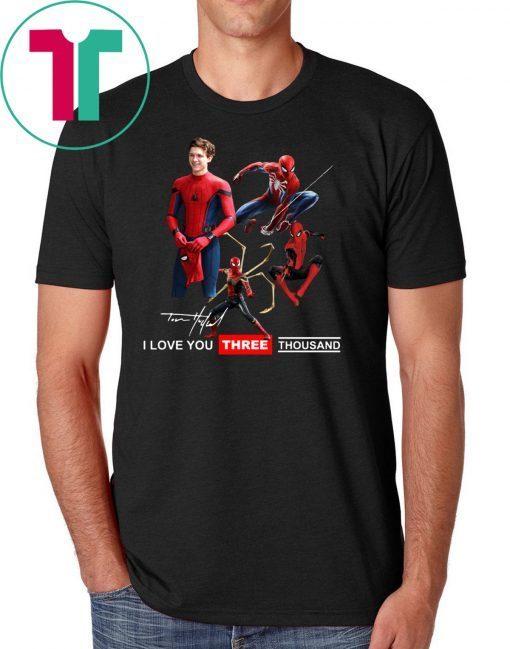Tony parker spider-man I love you three thousand shirt