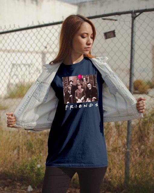 Horror Halloween Team Friends Gift T-Shirt