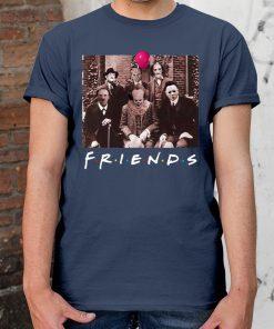 Womens Horror Halloween Team Friends Shirt