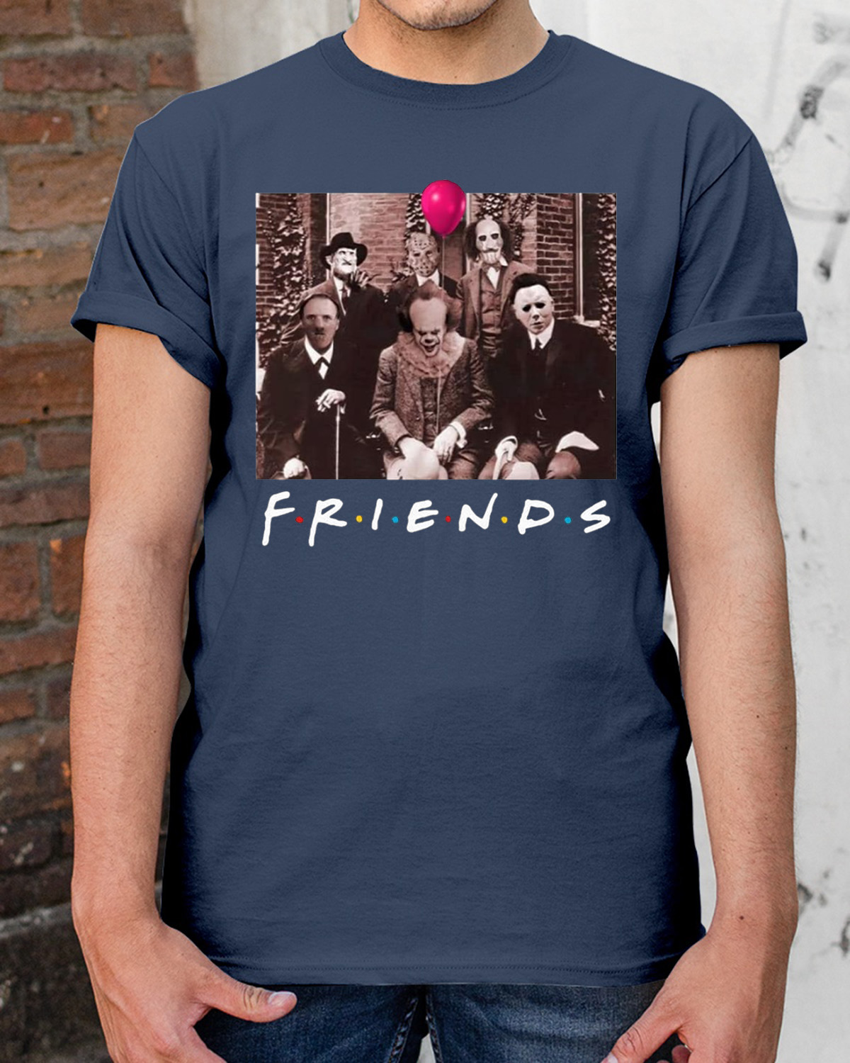 Halloween Friends Shirt.Womens Horror Halloween Team Friends Shirt Breakshirts Office