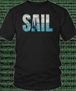 Sail Impressionistic Sailing Art T-Shirt