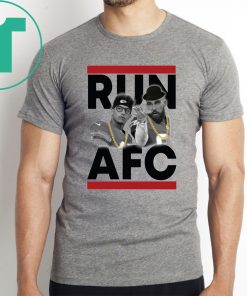 Patrick Mahomes Travis Kelce Run AFC Shirt