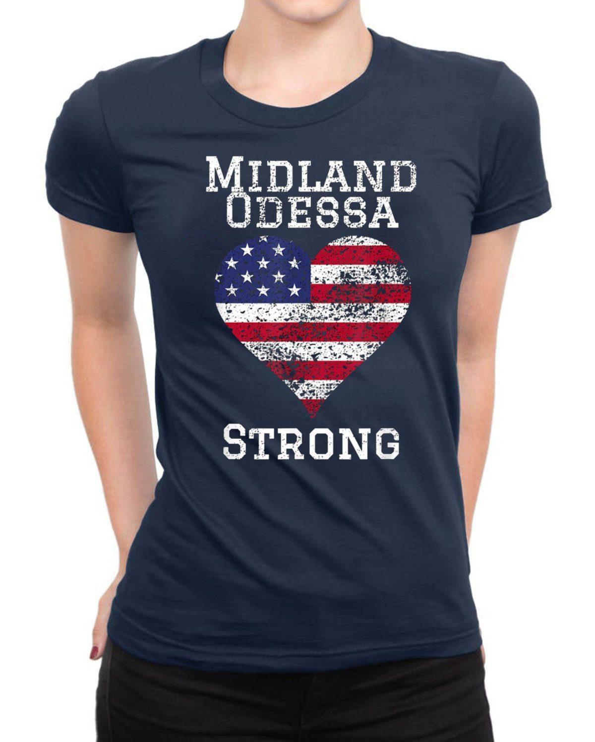 Odessa Midland Texas Strong T-Shirt