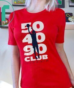 50 40 90 Club, WNBPA Shirt Elena Delle Donne Offcial T-Shirt