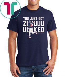 Kurt Suzuki Shirt - Zuuuuuked, Washington, MLBPA