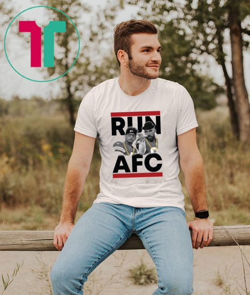 Patrick Mahomes Travis Kelce Run AFC Shirt