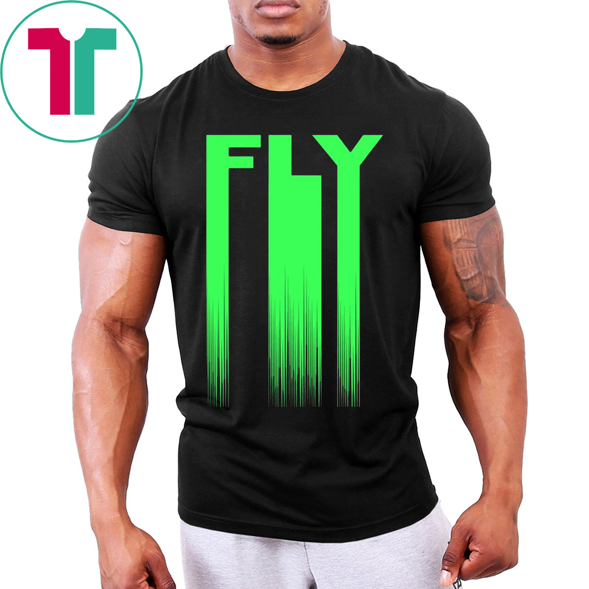 timeless design 1f4c4 23ea7 Mens Philadelphia Eagles Fly T-Shirt