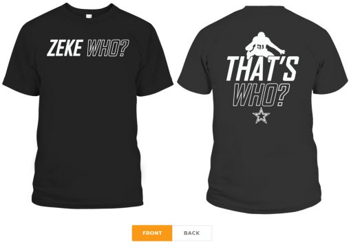 Zeke Who That's Who T-Shirt
