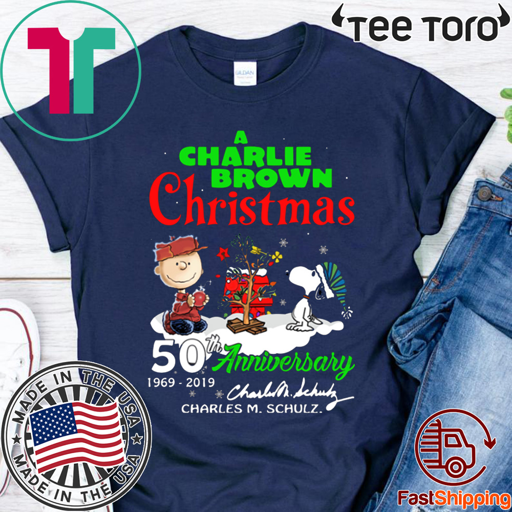 Charlie Brown Christmas 50th.A Charlie Brown Christmas 50th Anniversary T Shirts Breakshirts Office