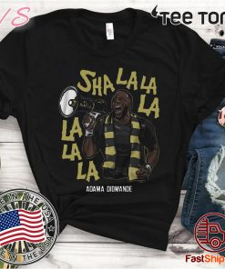 Adama Diomande Shirt, Sha La La La La La La - Officially Licensed by MLSPA