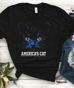 America's Cat Shirt Dallas Football Black Cat