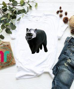 Funny Black Cat Dallas Cowboys T-Shirt