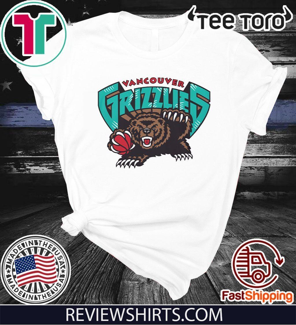 Vancouver Grizzlies Logo Tee Shirt