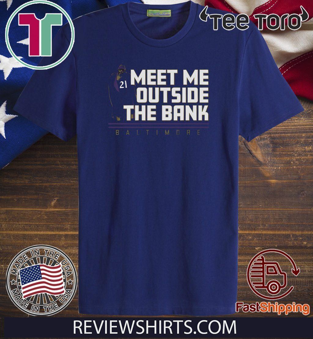 Offcial Mark Ingram Outside the Bank T-Shirt - Breakshirts ...