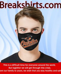 US Baltimore Orioles Mask Filter - Face Mask Filter MP 2.5
