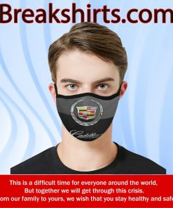 Cadillac Flag Face Mask US 2020 – Face Mask Activated Carbon - Limited Edition