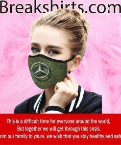 Mercedes-Benz Camo Cloth Face Mask US - Logo Mercedes 2020