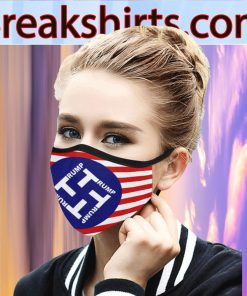 Trump Flag US Cloth Face Mask - high quality face mask is made US 2020