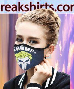 Trump Make America Falg Skull Face Mask