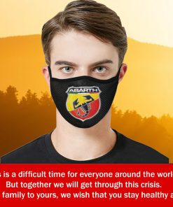logo Abarth Face Mask Filter