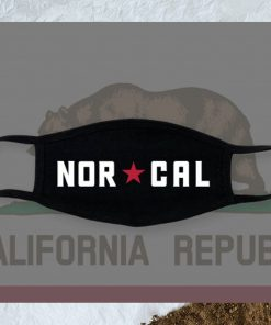 2 NOR CAL Face Masks Made in USA