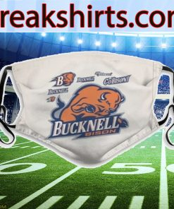BUCKNELL BISON FACE MASK FASHIONABLE