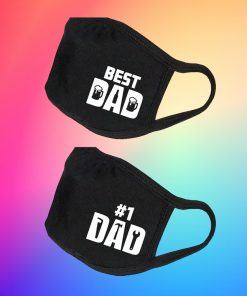 #1 Dad Fathers Day Gift - Best Dad Fathers Day Gift - Father's Day Mask - Father's Day Gifts