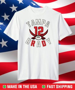 12 Tampa Bay Buccaneers NFL,Super Bowl 2021 T-Shirt