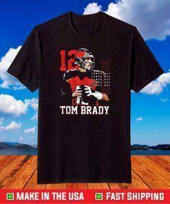 12 tom brady tampa bay buccaneers Tampa Bay Buccaneers NFL T-Shirt