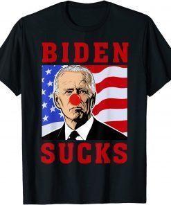 2021 Biden Sucks ,Pro American ,Anti Biden USA T-Shirt